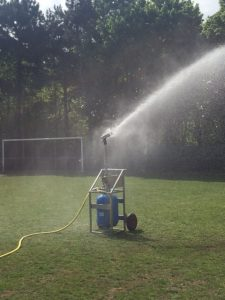 mawdsleys pump systems maintaining football pitches