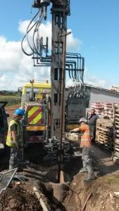 Mawdsleys replacing a failing borehole