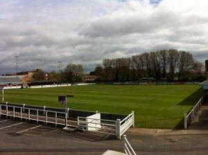 Taunton Football club football pitch