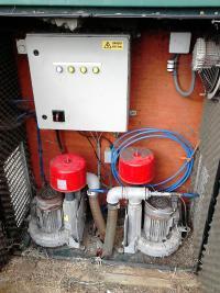 Mawdsleys sewage treatment blowers