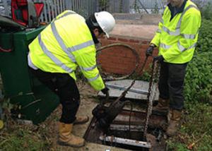 sewage treatmant plant repair