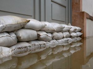 Sandbags to prevent flooding at UK homes and businesses