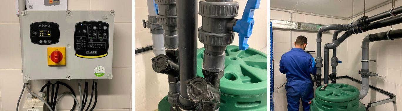 wastewater pump installation compilation